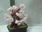 Дерево  счастья из  9  видов натур. камней