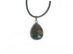 Кулон из натурального камня ЯШМА