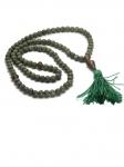 Четки буддийские 108 бусин 6 мм. из змеевика.