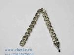 перекидные четки металлические серебряного цвета