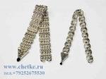 Четки болтухи металлические сереряного цвета два вида в комплект